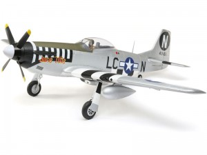 E-flite - P-51D Mustang 1.2m SAFE Select BNF Basic