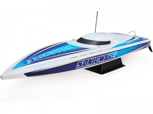 "Proboat Sonicwake 36"" Self-Right Deep-V BL RTR biała"
