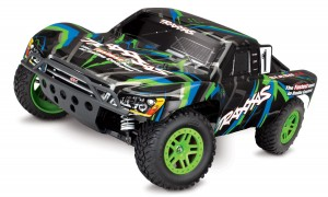 Traxxas Slash XL-5 model 4WD zielony