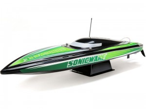 "Proboat Sonicwake 36"" Self-Right Deep-V BL RTR czarna"
