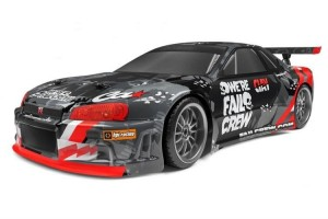 HPI Racing E10 Drift Fail Crew NISSAN SKYLINE R34 GT-R