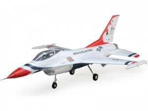 E-flite F-16 Thunderbirds 70mm EDF SAFE Select BNF Basic