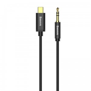 Kabel audio USB-C do mini jack 3,5mm Baseus Yiven 1.2m