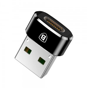 Adapter USB-C do USB-A Baseus 5A (czarny)