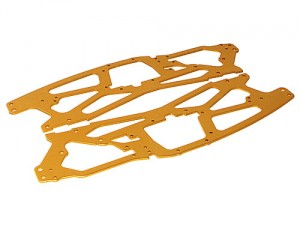 HPI Racing - MAIN CHASSIS 2.5MM (GOLD/2PCS