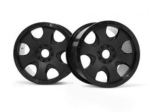 HPI Racing - WARLOCK WHEEL BLACK (83X56MM/2PCS)