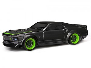 HPI Racing FORD MUSTANG 1969 RTR-X BODY MICRO RS4 RTR