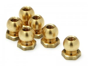 HPI Racing - BALL NUT M2x3.8x4.5mm (6pcs)