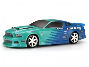 HPI Racing - FALKEN TIRE 2013 FORD MUSTANG PAINTED BODY (140MM)