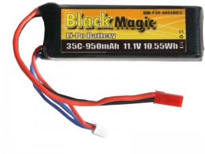 Black Magic - Akumulator 3S LiPo 11.1V 950mAh 35C JST