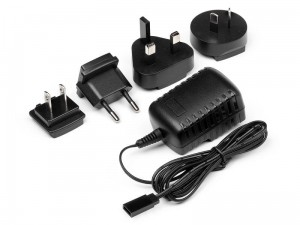 AC MULTI-PLUG CHARGER WITH RECEIVER PLUG