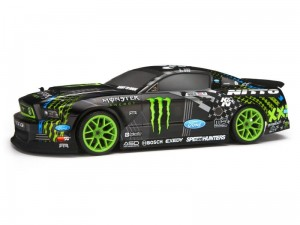 HPI Racing Ford Mustang Vaughn monster  2013 Karoseria pomalowana 200mm