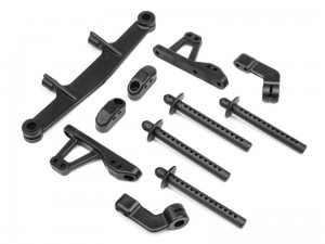 HPI Racing - BODY POST/CAMBER LINK SET (FRONT/REAR)