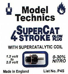 Model Technics - świeca SUPER CAT 4 STROKE