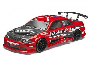 Maverick Strada DC RED Bezszczotkowy 1/10 RTR Model Drift Car