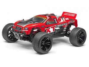 Maverick - Strada XT RED Bezszczotka 1/10 RTR Model Truggy