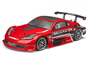 Maverick Strada TC RED Bezszczotkowy 1/10 RTR Model Touring Car